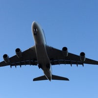 Photo taken at Aircraft Viewing Area 3 (Melbourne Airport) by Shivani K. on 1/28/2013
