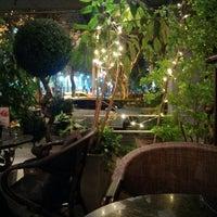 Photo taken at Khaki Cafe Bar by David on 4/1/2015