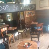 Photo taken at The Corner Caffe by Katja on 4/4/2014