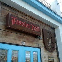 Photo taken at Fassler Hall by Brian W. on 4/17/2013