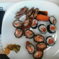 Photo taken at Wok Sushi by Maya G. on 11/28/2012