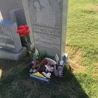 Photo taken at New Calvary Cemetery by Patrick G. on 9/15/2016