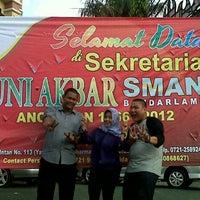 Photo taken at SMA Negeri 2 Bandar Lampung by Maddin D. on 4/16/2013