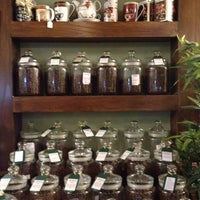 Photo taken at Oolong Flower Power Tea Shop by Vanessa on 10/17/2013