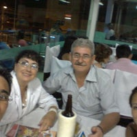 Photo taken at Restaurante e Choperia Ilha do Sol by Flavio W. on 2/3/2013