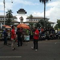 Photo taken at Kantor Gubernur Jawa Barat by Pradita J. on 5/1/2013