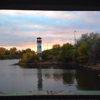 Photo taken at Nice Ride Boom Island Park by Alissa F. on 10/17/2014