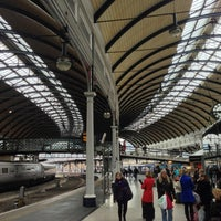 Photo taken at Newcastle Central Railway Station (NCL) by Charlie C. on 10/16/2012
