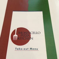 Photo taken at Monticello Pizza Kitchen by Josh U. on 2/15/2013