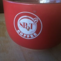 Photo taken at SPoT Coffee Elmwood Cafe by Jonathan on 1/1/2013