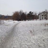 Photo taken at Академгородок by Yulia S. on 3/9/2014