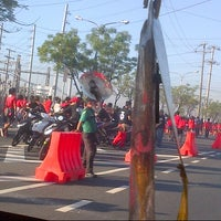 Photo taken at Tandang Sora Overpass by Kyle Paulo E. on 2/9/2013
