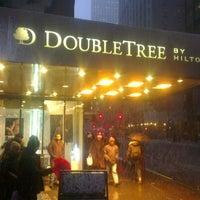Photo taken at DoubleTree by Hilton Hotel Metropolitan - New York City by Tlg Z. on 2/8/2013