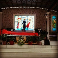 Photo taken at National Shrine of the Divine Mercy by Karen B. on 9/16/2012