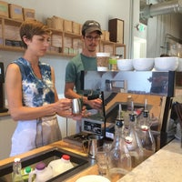 Photo taken at Elm Coffee Roasters by Luis A. on 6/23/2015