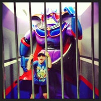 Photo taken at Buzz Lightyear's Space Ranger Spin by James G. on 6/10/2013