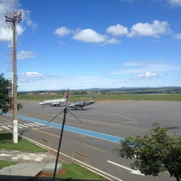 Photo taken at Aeroporto de Caldas Novas (CLV) by Thiago S. on 2/6/2013