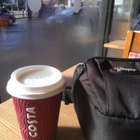 Photo taken at Costa Coffee by Dean R. on 2/21/2015