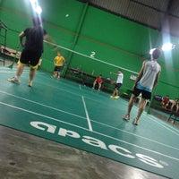 Photo taken at Dewan Badminton BCB by Dave D. on 12/11/2013