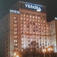 Снимок сделан в Гостиница «Украина» пользователем Boris P. 10/11/2012