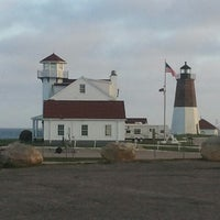 Photo taken at Point Judith Light House by Anthony T. on 5/5/2013