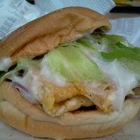 Photo taken at Burgermbira by awek justingbelimbing on 2/1/2013