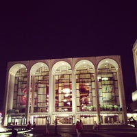 Photo taken at Josie Robertson Plaza (Lincoln Center Plaza) by Donovan S. on 7/11/2013