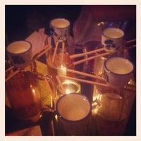 Photo taken at Sake Bar Satsko by Donovan S. on 10/14/2012
