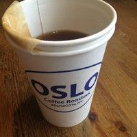 Снимок сделан в Oslo Coffee пользователем Christina R. 1/30/2013