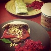Photo taken at Prana Juice Bar & Namaste Cafe by Moon on 9/18/2012