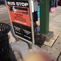 Photo taken at Bolt Bus Baltimore Stop by MajicBaby on 9/28/2012