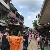 Photo taken at Shifen Old Street by @phai_pang on 8/7/2017