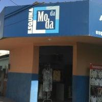 Photo taken at Esquina Da Moda by Junior R. on 6/5/2013