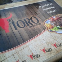 Photo taken at EL TORO Burger House by Özge B. on 9/5/2013