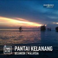 Photo taken at Pantai Kelanang by Muhammad Hanifi C. on 3/2/2013