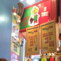 Photo taken at Pancho's Burritos by Stefano B. on 11/13/2013