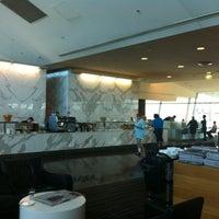 Photo taken at Qantas Club (T3) by Anita C. on 12/8/2012