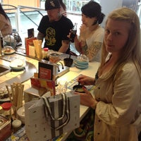 Photo taken at YO! Sushi by Vee on 6/10/2013