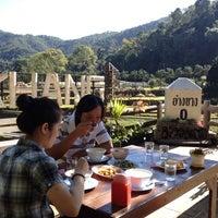 Photo taken at อ่างขางฮิลล์รีสอร์ต by Aey P. on 10/22/2012