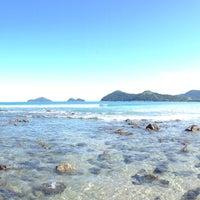 Photo taken at Praia da Baleia by Fernando M. on 4/25/2013
