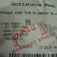 Photo taken at Wawa by Sheik R. on 10/9/2012