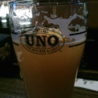 Photo taken at Uno Pizzeria & Grill - Boston by Tom X. on 1/12/2013