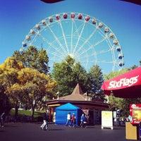 Photo taken at Six Flags St Louis by Jennifer H. on 10/7/2012