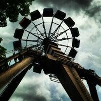 Photo taken at Six Flags St Louis by Jennifer H. on 5/27/2013