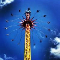 Photo taken at Six Flags St Louis by Jennifer H. on 7/23/2013