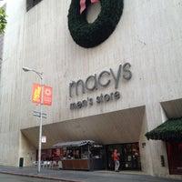 Photo taken at Macy's by Randy N. on 12/17/2012