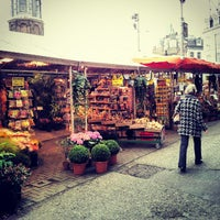 Photo taken at Flower Market by Daryl A. on 10/24/2012