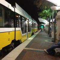 Photo taken at Union Station (DART Rail / TRE / Amtrak) by Bill C. on 11/21/2012