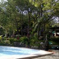 Photo taken at Kolam Air Panas, Hotel Duta Wisata Guci Tegal by Helin M. on 6/22/2013