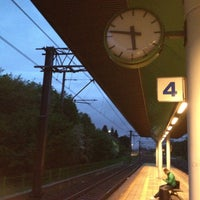 Photo taken at Stazione Caronno Pertusella by Gianluca C. on 5/6/2013